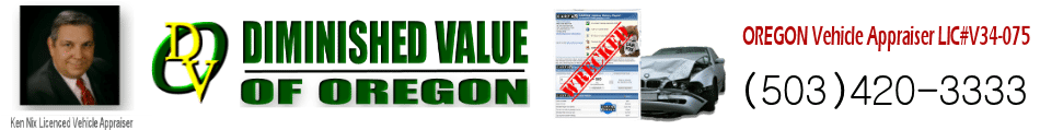 Diminished Value Auto Appraisers | Portland - Beaverton Oregon