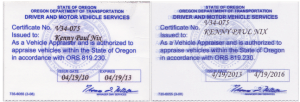 Why Choose Diminished Value of Oregon as Your Auto Appraiser