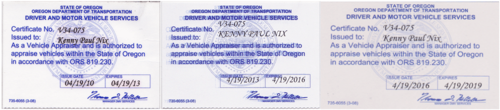 DIMINISHED VALUE OF OREGON™ | Portland, OR. Auto Appraiser • Car ...