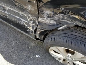 car wreck damage